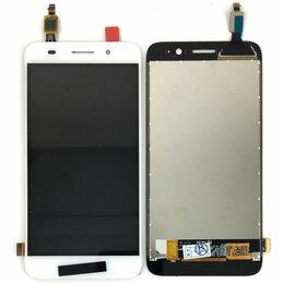 Дисплеи и тачскрины - Дисплей для Huawei Y3 2017 (CRO-U00 CRO-L02 CRO-L22) Y5 Lite (2017) белый, 0