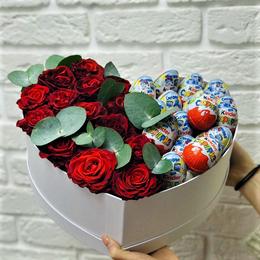 Киндер-сюрприз - Сердце цветы и киндер сюрприз №357, 0