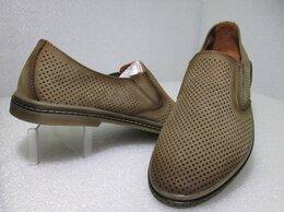 Туфли - Туфли легкие комфортные из натуральной кожи, 0