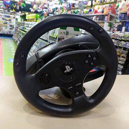 Рули, джойстики, геймпады - Игровой руль Thrustmaster T80 Racing Wheel (б/у), 0