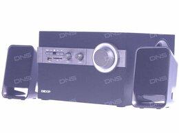 Компьютерная акустика - Колонки 2.1 DEXP T300 USB, SD, Пульт ДУ, 0