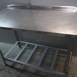 Прочее оборудование - Стол нерж. 120/60/85 сборный кар-с. (012355), 0