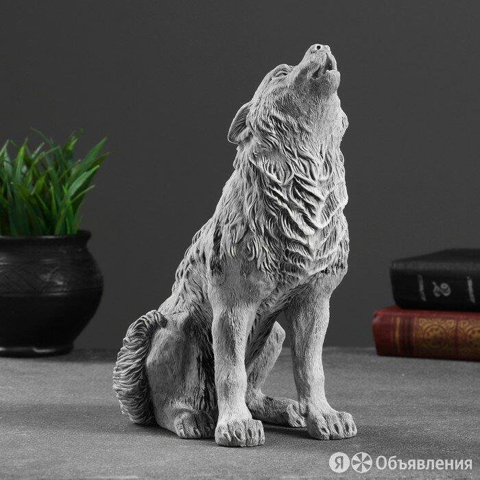 Сувенир 'Волк воет большой' 24см по цене 4845₽ - Статуэтки и фигурки, фото 0