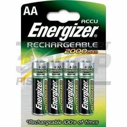 Зарядные устройства и адаптеры питания - Аккумулятор Energizer Rech Power Plus AA2000 MAH FSB4, 0
