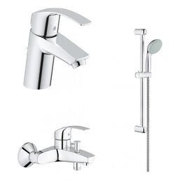 Полки, стойки, этажерки - Набор для ванной комнаты GROHE Eurosmart 124446, 0