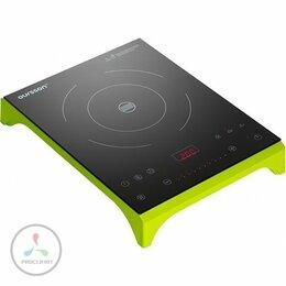 Плиты и варочные панели - Плитка электрическая OURSSON IP1220T/GA (зеленое…, 0