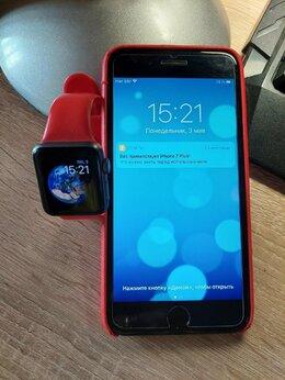 Мобильные телефоны - iPhone 7 Plus 128 gb + apple watch, 0