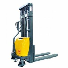 Грузоподъемное оборудование - Штабелер гидравлический с электроподъемом 1,0 т 3,0 м XILIN CDD10B-III , 0