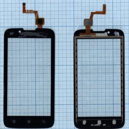 Дисплеи и тачскрины - Сенсорное стекло (тачскрин) для Lenovo A328 черное, 0
