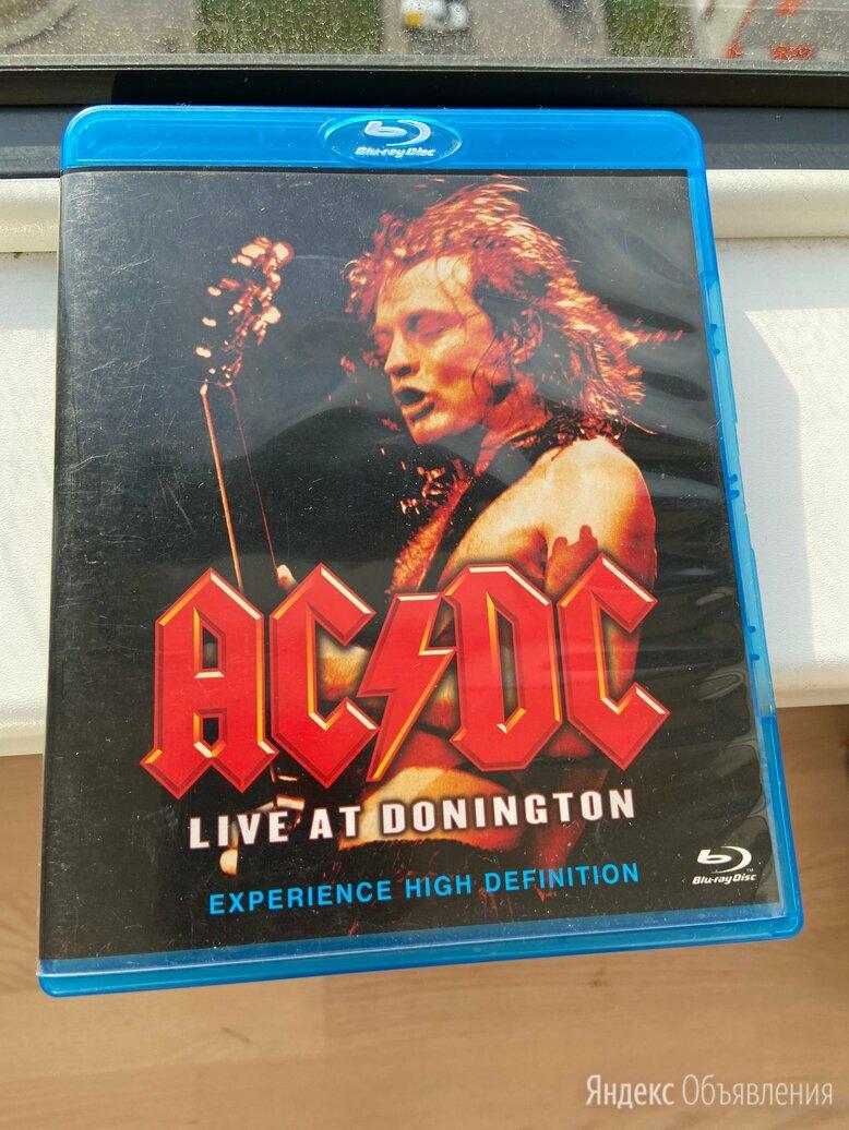 AC/DC: Live AT Donington (Blu-ray) лицензия по цене 800₽ - Видеофильмы, фото 0