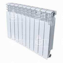 Радиаторы - Радиатор алюминиевый STI 500/100 10 секций, 0