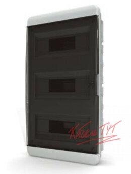 Электрические щиты и комплектующие - Бокс ЩРВ-П 36 IP41 прозрачная черная дверца Tekfor, 0