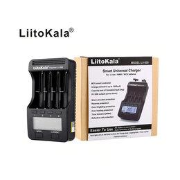 Зарядные устройства и адаптеры питания - Зарядка Liitokala Lii-500 с дисплеем, новая, 0