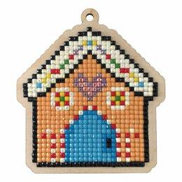 Рукоделие, поделки и товары для них - Алмазная мозаика Подвеска Пряничный домик, 0