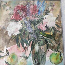 Картины, постеры, гобелены, панно - Акварель 45× 40 см, подписная., 0
