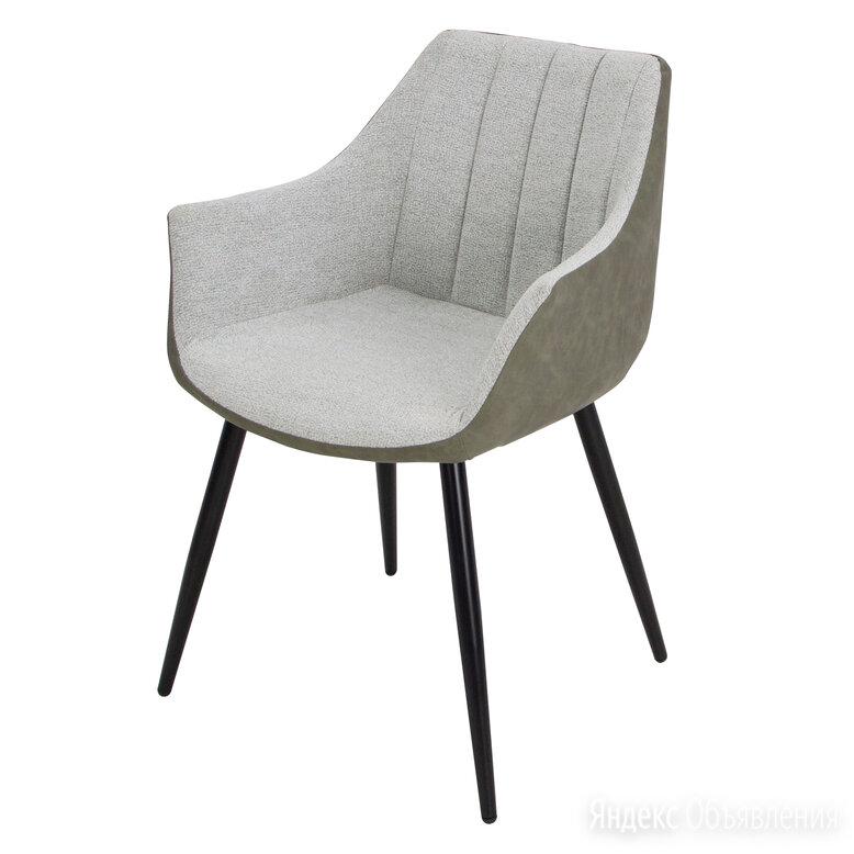 Стул Belinda MK-7208-GN Светло-серый/Черный по цене 7400₽ - Кресла и стулья, фото 0