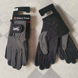 Конный спорт - Новые перчатки XS для верховой езды/конного спорта, 0
