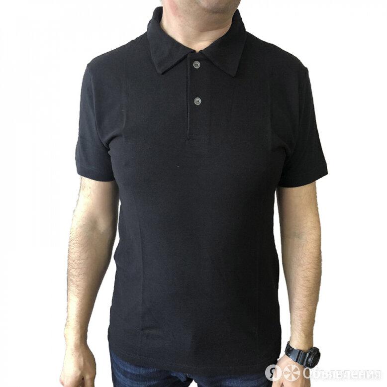 Рубашка-поло Спрут черный, L по цене 575₽ - Футболки и майки, фото 0