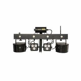 Световое и сценическое оборудование - INVOLIGHT MLS FX комплект из 5 LED-эффектов, 0