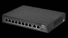 Проводные роутеры и коммутаторы - RVi-1NS08F-2T (1G) - сетевой коммутатор , 0