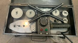 Аппараты для сварки пластиковых труб - Аппарат для сварки пластиковых труб IVT PW-900, 0