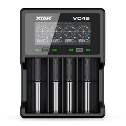 Зарядные устройства для стандартных аккумуляторов - Xtar VC4S зарядное устройство 18650 QC 3.0, 0