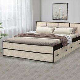 Кровати - Кровать Сакура 160 , с ящиками, 0