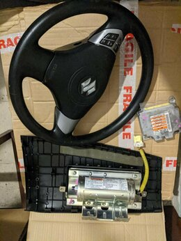 Система безопасности  - Комплект подушек безопасности Suzuki Grand Vitara, 0