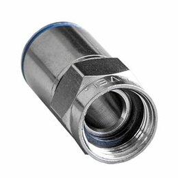 Кабели и разъемы - Разъёмы для TV CAVEL Разъем F-коннектор типа Push-On самообжимной. герметичен..., 0