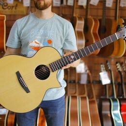Акустические и классические гитары - Трансакустическая гитара с чехлом Enya EA-X2С PRO+EQ, 0