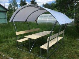 Комплекты садовой мебели - садовые беседки со столиком и лавкой, 0