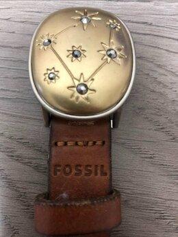 Ремни и пояса - Ремень Fossil наткожа 94 см, 0
