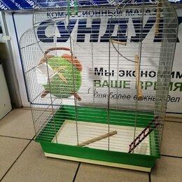 Клетки и домики - Клетка для крупного попугая, 0