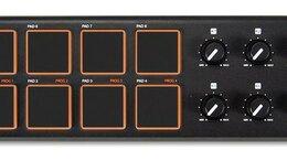 Оборудование для звукозаписывающих студий - AKAI PRO LPD8 портативный USB/MIDI-контроллер, 0