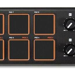 DJ контроллеры - AKAI PRO LPD8 портативный USB/MIDI-контроллер, 0