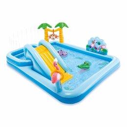 Надувные комплексы и батуты - Детский надувной игровой центр Intex 57161NP…, 0