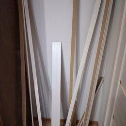 Древесно-плитные материалы - Рейки/планки, остатки от установки дверных коробок, 0