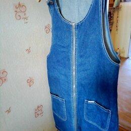 Платья и сарафаны - сарафан джинсовый, 0