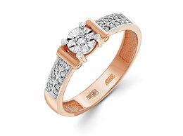 Кольца и перстни - Кольцо с 21 бриллиантами из комбинированного…, 0