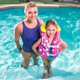 Аксессуары для плавания - Жилет для плавания «Минни Маус» от 3-6 лет Bestway, 0