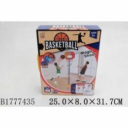 Настольные игры - 1777435 Набор для игры в баскетбол напольн.пласт. 38х108см, щит 28х22см, мяч 10с, 0