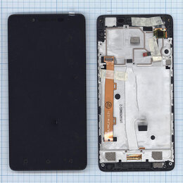 Запчасти и аксессуары для планшетов - Модуль (матрица + тачскрин) для Lenovo A6010…, 0