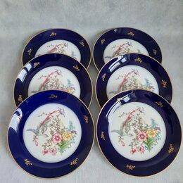 Посуда - Шесть тарелок Rosenthal, Германия, 1929 гг, 0