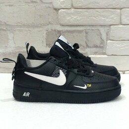 Кроссовки и кеды - Кроссовки Nike Air Force 1 '07 LV8 black, 0