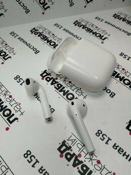 Наушники и Bluetooth-гарнитуры - Беспроводные наушники Apple AirPods А1602, 0
