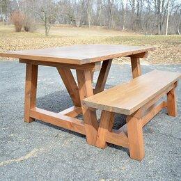 Столы - Стол и лавочки , 0