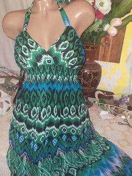 Пляжная одежда - Сарафан шифон в пол 46-48, 0