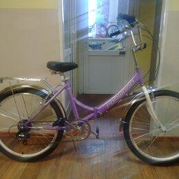 """Велосипеды - Велосипед складной Forward Valencia 24"""", 0"""
