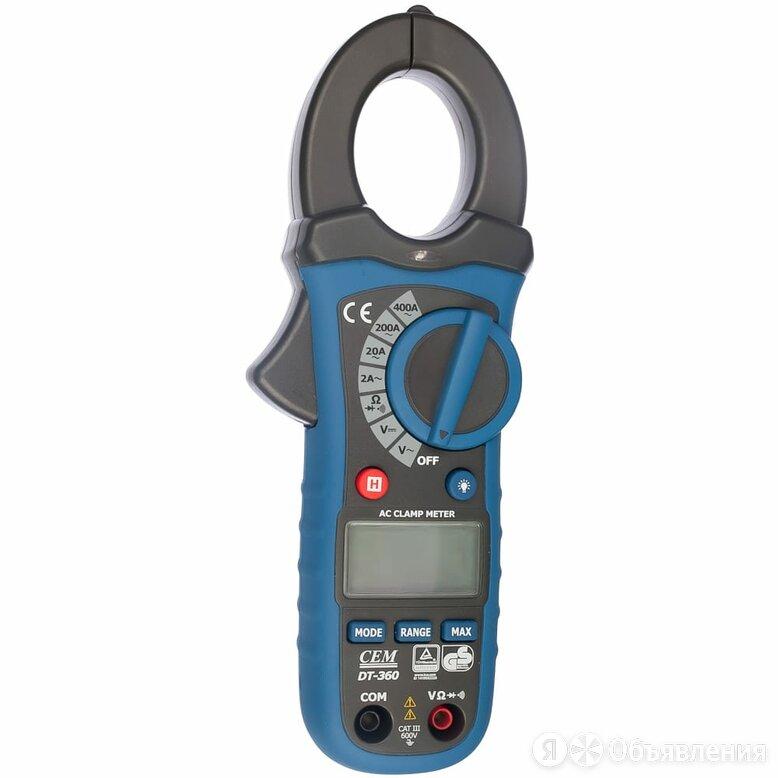 Профессиональные токовые клещи СЕМ DT-360 по цене 3960₽ - Товары для электромонтажа, фото 0