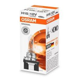 Лампочки - Галогенная лампа H15 Osram Original 12V 64176, 0
